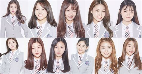 """Introducing the 11-members of """"Produce 101"""" girl group"""