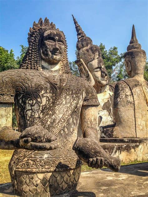 The Quirky Buddha Park in Vientiane, Laos: A Photo Essay