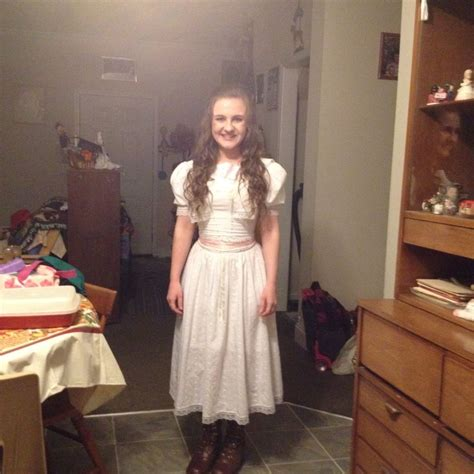 My Winnie Foster costume for Tuck Everlasting!!!! One of