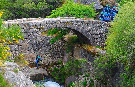 Canyoning in Rio Laboreiro in Peneda-Gerês National Park