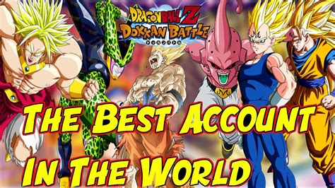 THE BEST DOKKAN BATTLE ACCOUNT EVER IN HISTORY