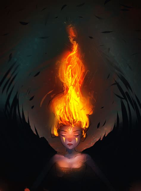 Flame (GIF) by ryky on DeviantArt