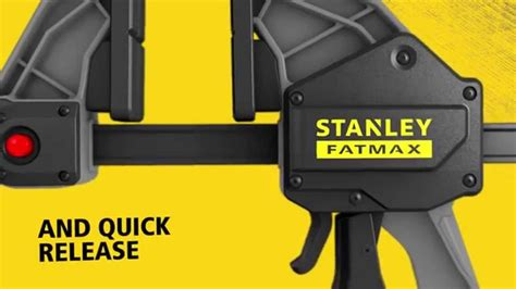 STANLEY® FATMAX® premium trigger clamps - YouTube