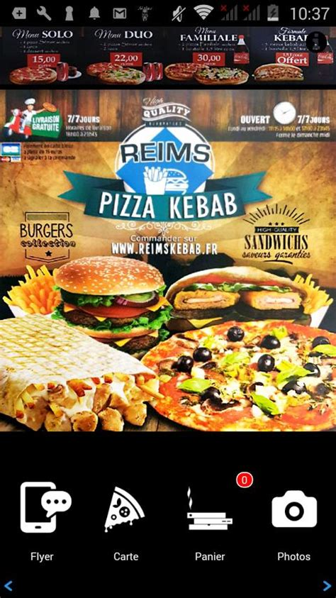 Reims Pizza Kebab for Android - APK Download
