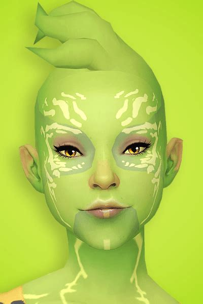 Pyxis' Alien Hair – Sweet Sims 4 Finds